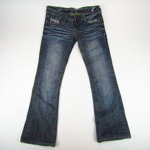 Diesel Viker Womens Jeans Boot Cut Size 30x34 Dark